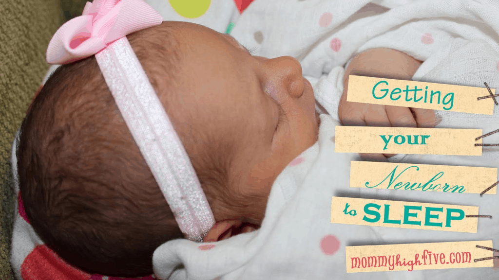 Newborn Sleeping Tips for Mom