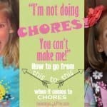 How to Get Your Kids to Do Their Chores Without Complaining