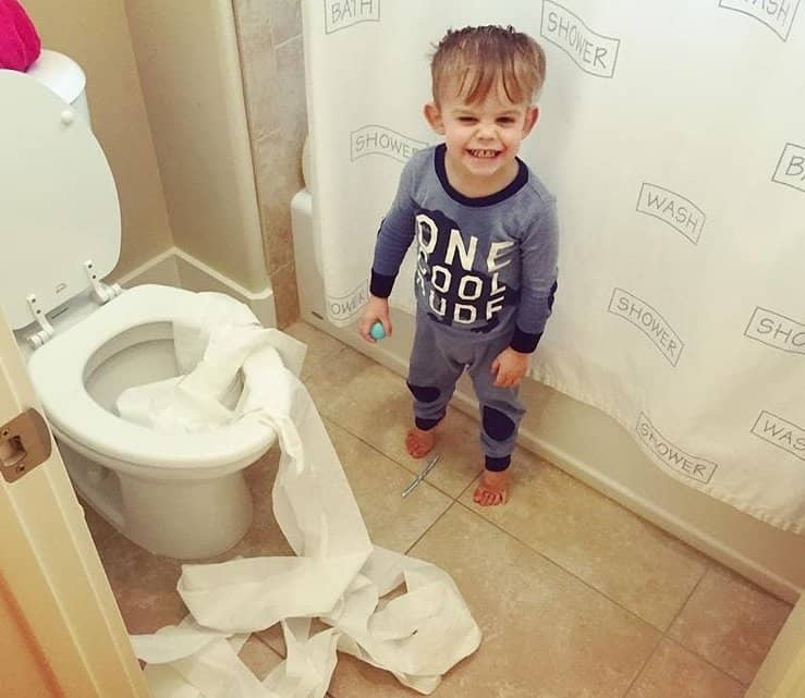 Toddler Potty Time