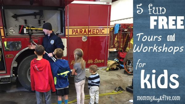 5 fun free tours and workshops for kids