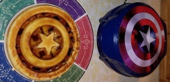 Marvel MVA-278 Captain America Waffle Maker