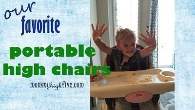 Best Portable High Chairs and Booster Seats