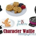 12 Good Character Waffle Makers for Kids 2020