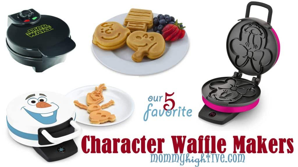 9 Good Character Waffle Makers for Kids