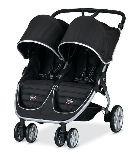 Britax B-Agile Double Stroller Vs City Mini