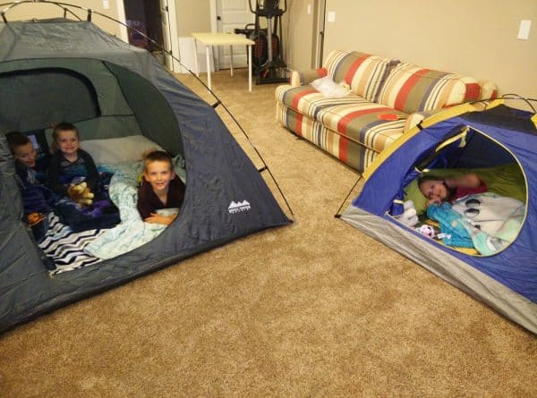Camping Inside Staycation