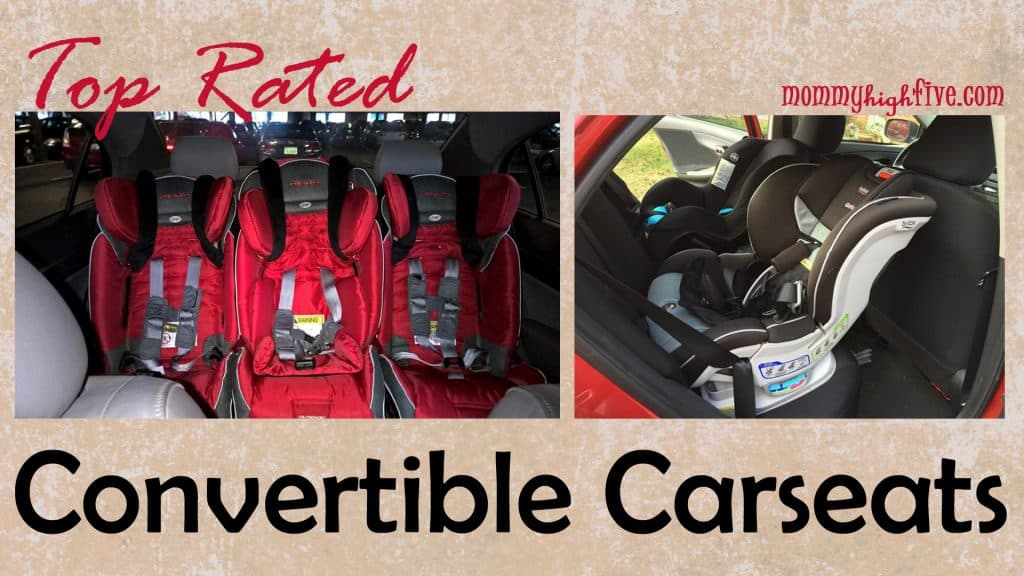 Top Rated Convertible Car Seats