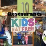 10 Restaurants Where Kids Eat Free in Utah