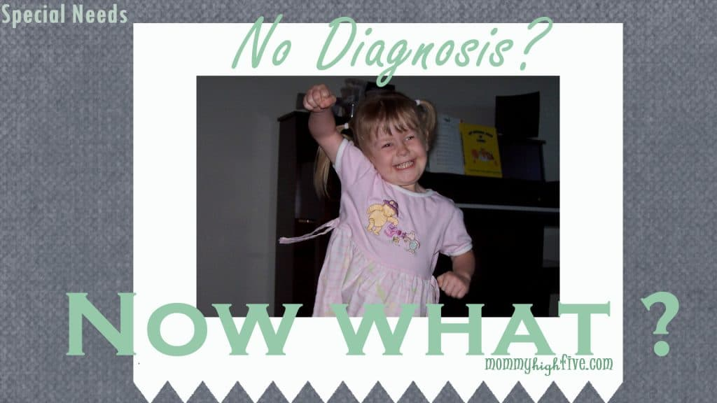 lack of diagnosis special needs