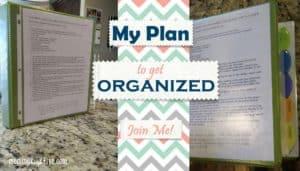 My Gluten-Free Plan to Get Organized