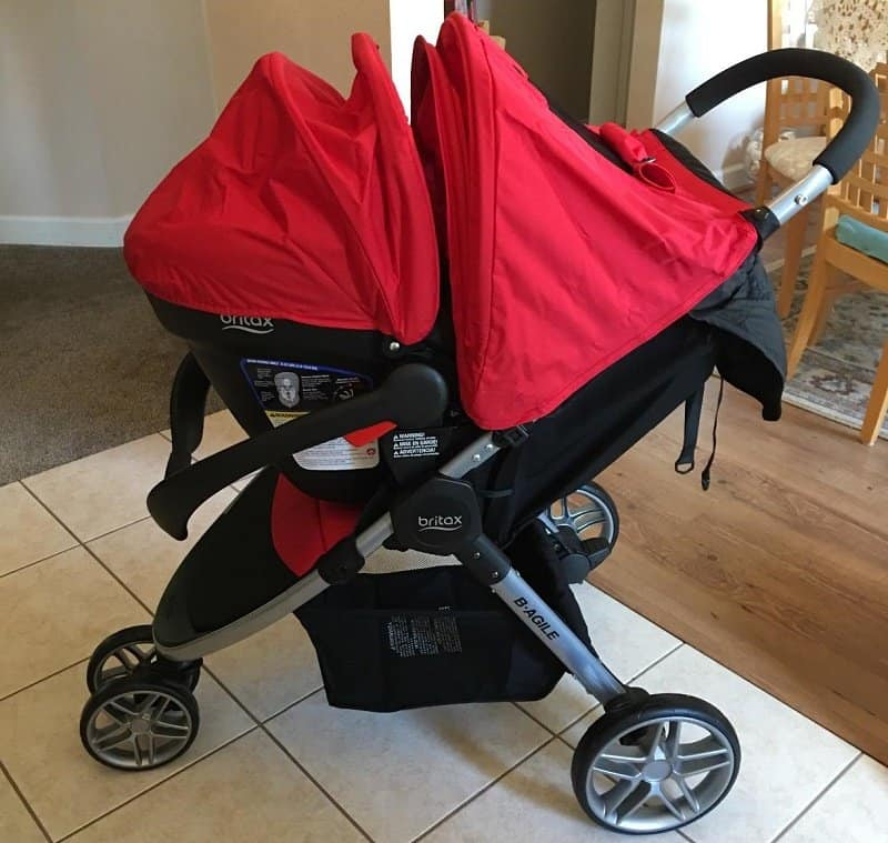 Britax B-Agile/B-Safe Travel System: