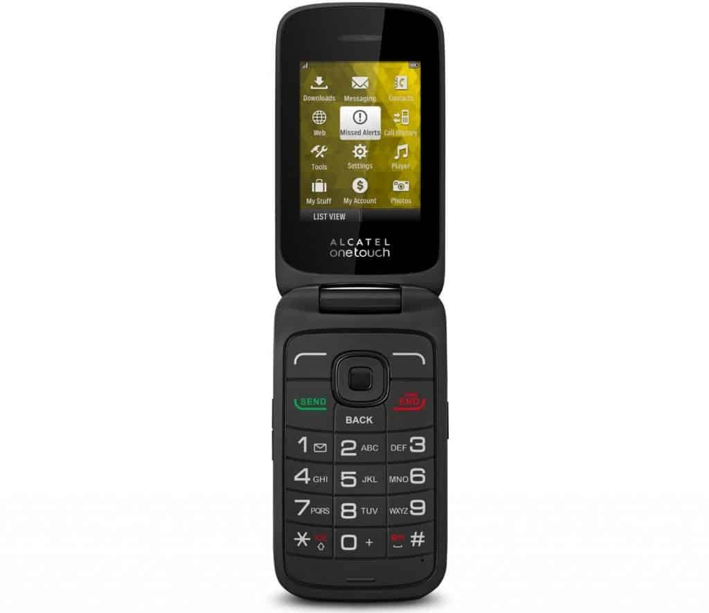 Alcatel OneTouch Retro (Sprint Prepaid) Flip Phone
