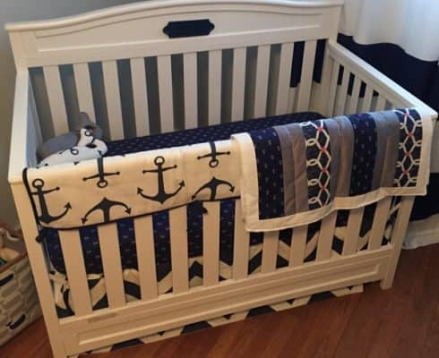 The Delta Emery Convertible 4-in-1 Crib