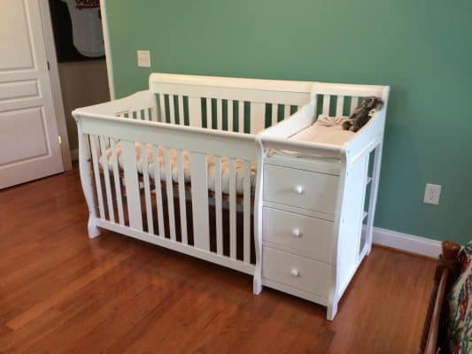The Stork Craft Portofino Convertible Crib