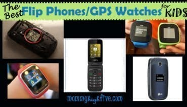 Best Flip Phones and GPS Watches for Kids 2018