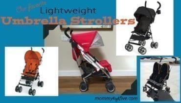 5 Good Budget Lightweight Umbrella Strollers 2018