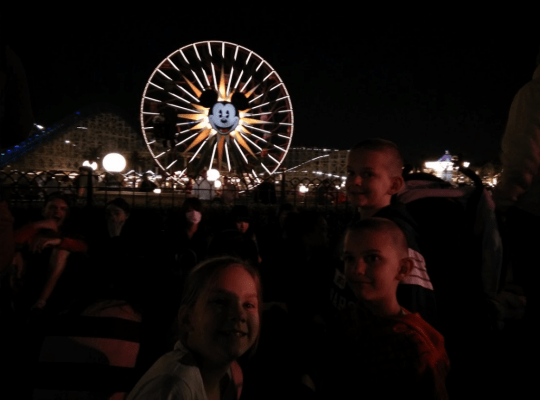 Disney World of Color with Kids
