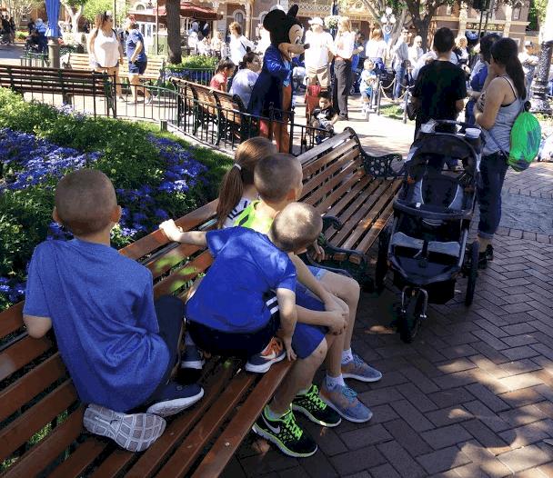 Taking a Break in Disney with Children
