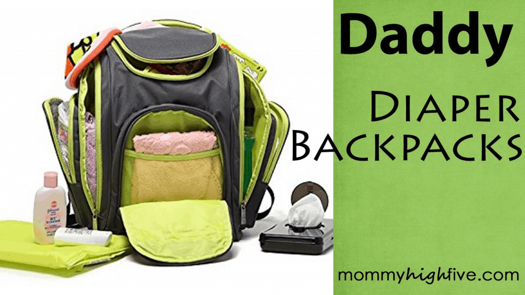 Daddy Diaper Backpacks