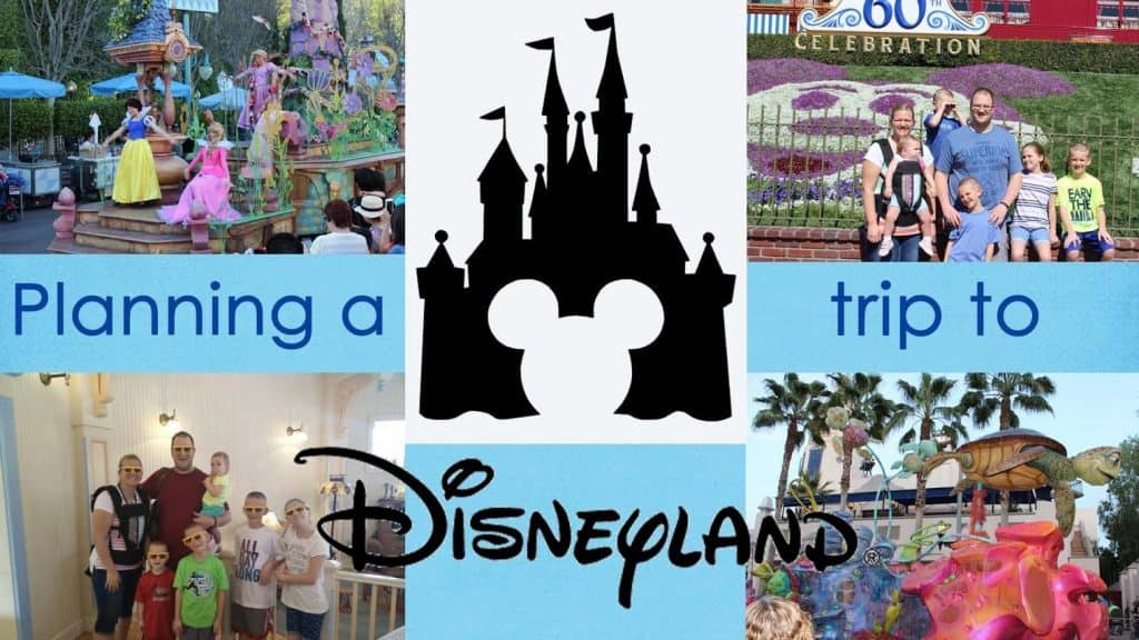 Planning a Trip to Disneyland with Young Kids