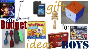 20 Budget Christmas Gift Ideas For Boys From $10 to Under $25 2018