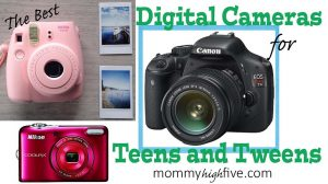 Best Digital Cameras for Christmas Teens