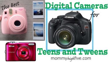 5 Good Budget Digital Cameras for Teens and Tweens 2018