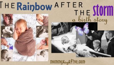After Almost Every Storm is a Rainbow – A Birth Story