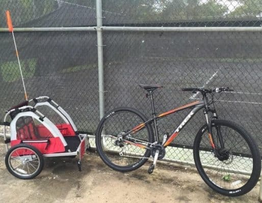 Allen Sports Steel Bicycle Trailer for Toddlers