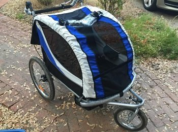 Foldable Bike and Baby Trailer and Jogger