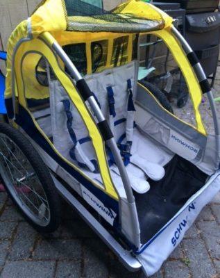 Schwinn Echo Double Bike Trailer for Kids