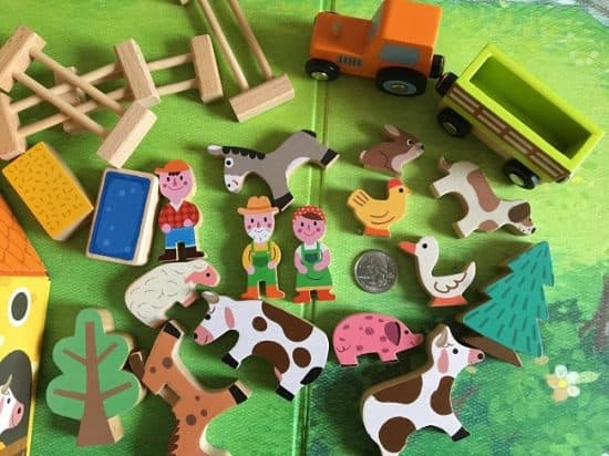 Janod Wooden Box Farm