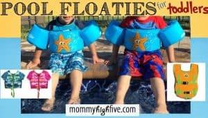 5 Good Swim Floaties for Toddlers and Preschoolers 2018