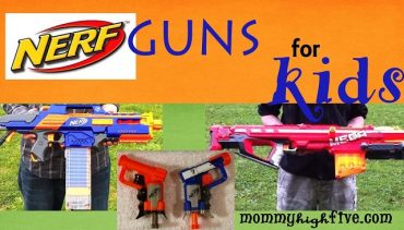 11 Best Nerf Guns for Young Kids in 2018