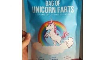 Bag of Unicorn Farts Elephant Gag Gift