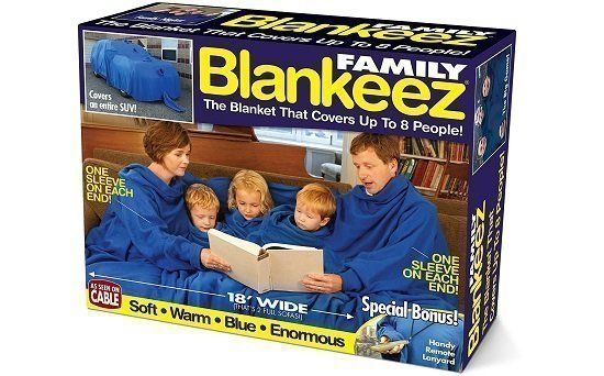 Family Blankeez Gift Box