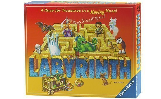 Labyrinth Board Game Gift Under $50