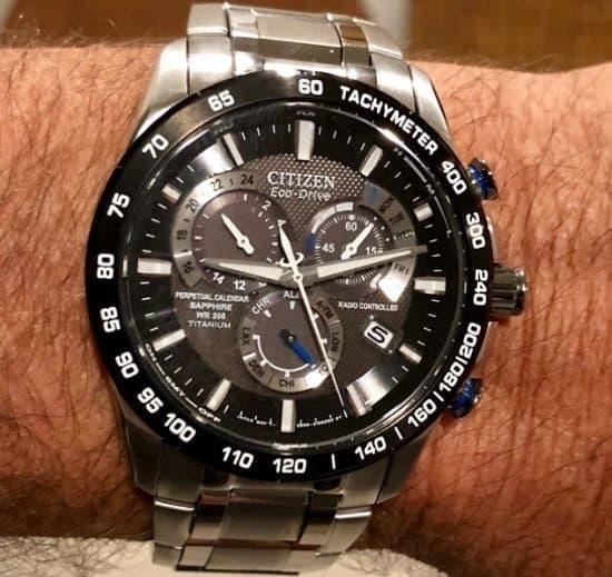 Citizen Eco-Drive Titanium AT4010-50E Perpetual Watch