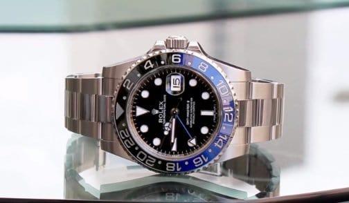 Rolex Batman GMT Master II 116710 BLNR
