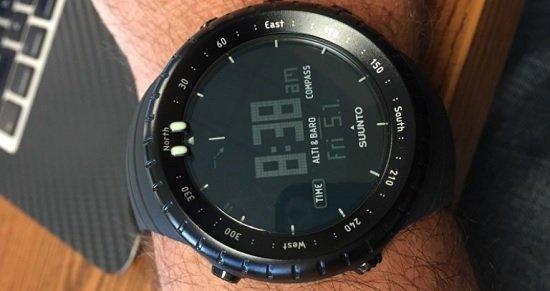 Suunto Core All Black Military Watch