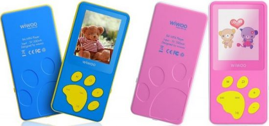 Wiwoo B4 8GB MP3 and MP4 Player