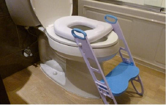 Mommy's Helper Contoured Cushie Step Up Toddler Toilet