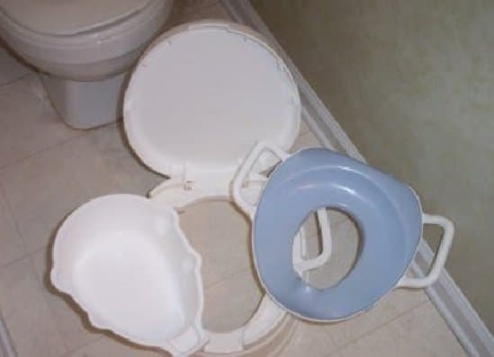Primo 4-In-1 Soft Seat Toilet Trainer Potty Seat