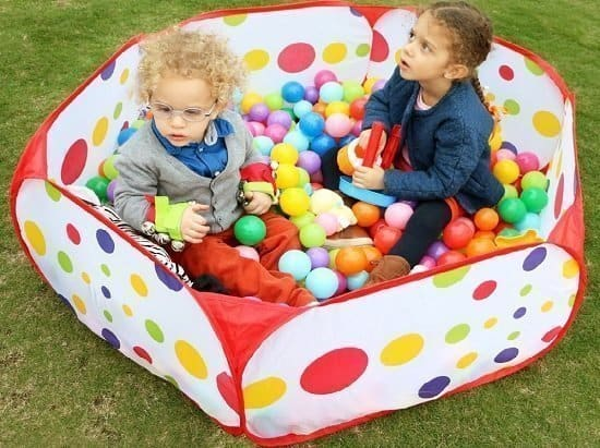 Ball Pit Playpen With Storage Bag