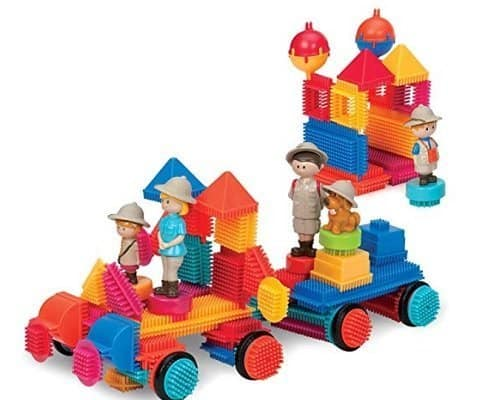 Battat Bristle Blocks for Toddlers or Pre-schoolers