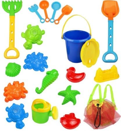 18 Piece Sand Toy Set