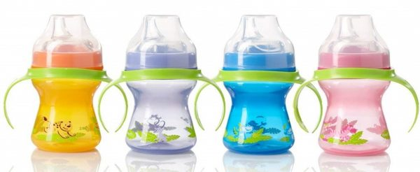 Evenflo Feeding Zoo Friends Trainer Sippy Cup with Handle