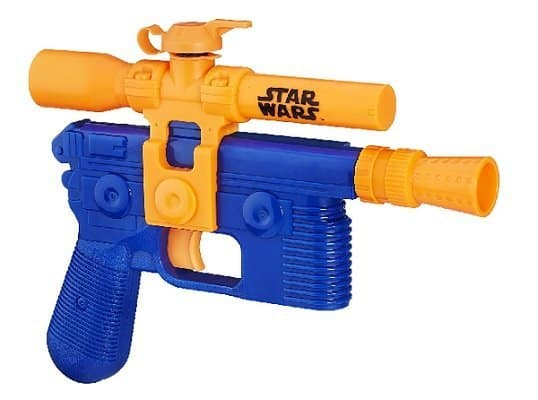 Star Wars Episode VII Nerf Super Soaker Han Solo Blaster