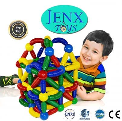 Jenx Toys Jumbo Magnetic Building Set