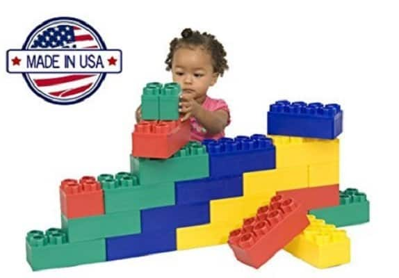 Kids Adventure 24pc Jumbo Blocks for young kids
